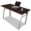 LITTR733MOC Trento Line Rectangular Desk, 47-1/4w x 23-5/8d x 29-1/2h, Mocha LIT TR733MOC
