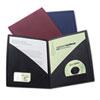 GBC55518 IMPACT Designer Two-Pocket Folder, 11 x 8-1/2, Black, 5/Pack GBC 55518