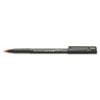 SAN60042 Onyx Roller Ball Stick Dye-Based Pen, Red Ink, Micro, Dozen SAN 60042