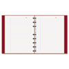 REDAF915083 MiracleBind Notebook, College/Margin, 9-1/4x7-1/4, White, 75 Sheets, Red Cover RED AF915083
