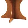 ALEVA732815MC Valencia Series Base Kit, Sculpted Leg, 29-1/2w x 28-1/2h, Medium Cherry ALE VA732815MC