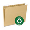 Smead 100% Recycled Colored Hanging File Folders
