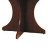 ALEVA732815MY Valencia Series Base Kit, Sculpted Leg, 29-1/2w x 28-1/2h, Mahogany ALE VA732815MY
