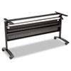 ALEVA737260BK Valencia Series Training Table Base, Modesty Panel, 58w x 20d, Black ALE VA737260BK