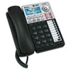 Two-line speakerphone with Caller ID and digital answering machine.