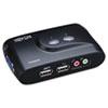 Tripp Lite 2-Port Compact USB KVM Switch