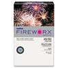 CASMP2207BE FIREWORX Colored Paper, 20lb, 11 x 17, Bottle Rocket Blue, 500 Sheets/Ream CAS MP2207BE