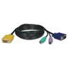 TRPP774006 KVM Switch Cable Kit, PS/2, 6 ft. TRP P774006