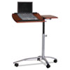 MLN950MEC Eastwinds Laptop Computer Caddy, 29½w x 20d x 27-38h, Medium Cherry MLN 950MEC