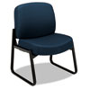 HON3506NT90T 3500 Series Armless Guest Chair, Black Frame/Mariner NT Tectonic Polyester HON 3506NT90T