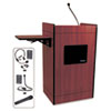 APLSW3230MH Multimedia Smart Computer Lectern, Wireless, 25-1/2w x 20-1/4d x 43-1/2h, Mhgny APL SW3230MH