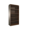 ALESE637236ES SedinaAG Series Bookcase, 5 Shelves, 36w x 15d x 72h, Espresso ALE SE637236ES