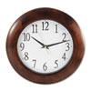 """Universal 12-3/4"""" Round Wood Clock"""