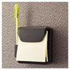UNV08205 Recycled Plastic Cubicle 3 x 3 Pop-Up Note Dispenser, Charcoal UNV 08205