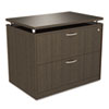 ALESE513622ES SedinaAG Series Two-Drawer Lateral File, 36w x 22d x 29-1/2h, Espresso ALE SE513622ES
