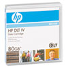 "HP 1/2"" DLT-4 Cartridge, 1828ft, 20GB Native/40GB Compressed Capacity"
