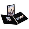 AVE17001 Durable Vinyl Slant D Ring View Binder, 11 x 8-1/2, 1/2