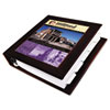 AVE68031 Framed View Binder With One Touch Locking EZD Rings, 1-1/2