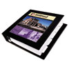 AVE68037 Framed View Binder With One Touch Locking EZD Rings, 3