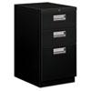 HON33720CP Brigade Mobile Box/Box/File Pedestal, Recessed Pulls, 19-7/8