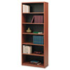 SAF7174CY Value Mate Series Bookcase, 6 Shelves, 31-3/4w x 13-1/2d x 80h, Cherry SAF 7174CY