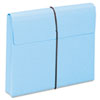 SMD77203 Two Inch Accordion Expansion Wallet with String, Letter, Blue, 10/BX SMD 77203