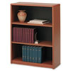 SAF7171CY Value Mate Series Bookcase, 3 Shelves, 31-3/4w x 13-1/2d x 41h, Cherry SAF 7171CY