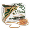 ALL21405 Pale Crepe Gold Rubber Bands, Size 117B, 7 x 1/8, 1lb Box ALL 21405
