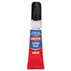 LOC1363131 All-Purpose Super Glue, 2 gram Tube, 2/Pack LOC 1363131