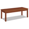 HON80191JJ Laminate Occasional Table, Rectangular, 48w x 20d x 16h, Henna Cherry HON 80191JJ
