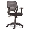 OIFEM4847 Eikon Series Swivel/Tilt Mesh Task Chair, Black Arms/Base, Gray OIF EM4847