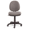 ALEIN4841 Interval Swivel/Tilt Task Chair, 100% Acrylic with Tone-On-Tone Pattern, Gray ALE IN4841