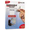 VEK91639 Removable Lt Duty Hook & Loop Fasteners, 1 1/4