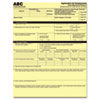 PMC59100 Digital Carbonless Paper, 8-1/2 x 11, One-Part, Canary, 500 Sheets/Pack PMC 59100