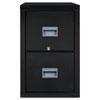 FIR2P2131CBL Patriot Insulated 2-Drawer Fire File, 20-3/4w x 31-5/8d x 27-3/4h, Black FIR 2P2131CBL