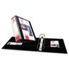 AVE17041 Durable Vinyl Slant D Ring View Binder, 11 x 8-1/2, 3