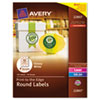 AVE22807 Round Easy Peel Labels, 2