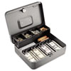 STEELMASTER by MMF Industries Tiered Cash Box with Bill Weights