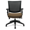 GLB2738MBBKS103 Graphic Med Posture Mesh Back Chair, Black Base/Frame, Barley Fabric Seat GLB 2738MBBKS103