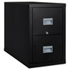 FIR2P1831CBL Patriot Insulated 2-Drawer Fire File, 17-3/4w x 31-5/8d x 27-3/4h, Black FIR 2P1831CBL