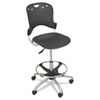 BLT34643 Circulation Stool, Polypropylene Back/Seat, Black BLT 34643