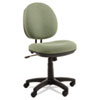 ALEIN4871 Interval Swivel/Tilt Task Chair, 100% Acrylic with Tone-On-Tone Pattern, Green ALE IN4871