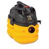 SHO5872410 Heavy-Duty Portable Wet/Dry Vacuum, 5-Gallon Capacity, 17 lbs, Black/Yellow SHO 5872410