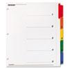 CRD61318 OneStep Plus Index System, 5-Tab, Multi-Color CRD 61318