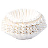 BUNBCF250 Flat Bottom Coffee Filters, 12-Cup Size, 250 Filters/Pack BUN BCF250