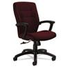 GLB50914BKS101 Synopsis Series Medium-Back Tilter Chair, Black Arms/Base, Cabernet Fabric GLB 50914BKS101
