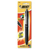 BICMMPGP1 4-Color Grip Ballpoint Retractable Pen, Assorted Ink, with Lanyard, Medium BIC MMPGP1