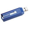 VER97275 Classic USB 2.0 Flash Drive, 16GB, Blue VER 97275