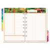 Day-Timer Garden Path Dated Two-Page-per-Day Organizer Refill