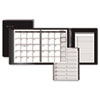 "AAG70120P05 Plus Monthly Planner, Black, 6 7/8"" x 8 3/4"", 2015 AAG 70120P05"